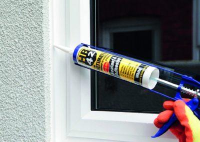 Sealing Internal Window with HB42
