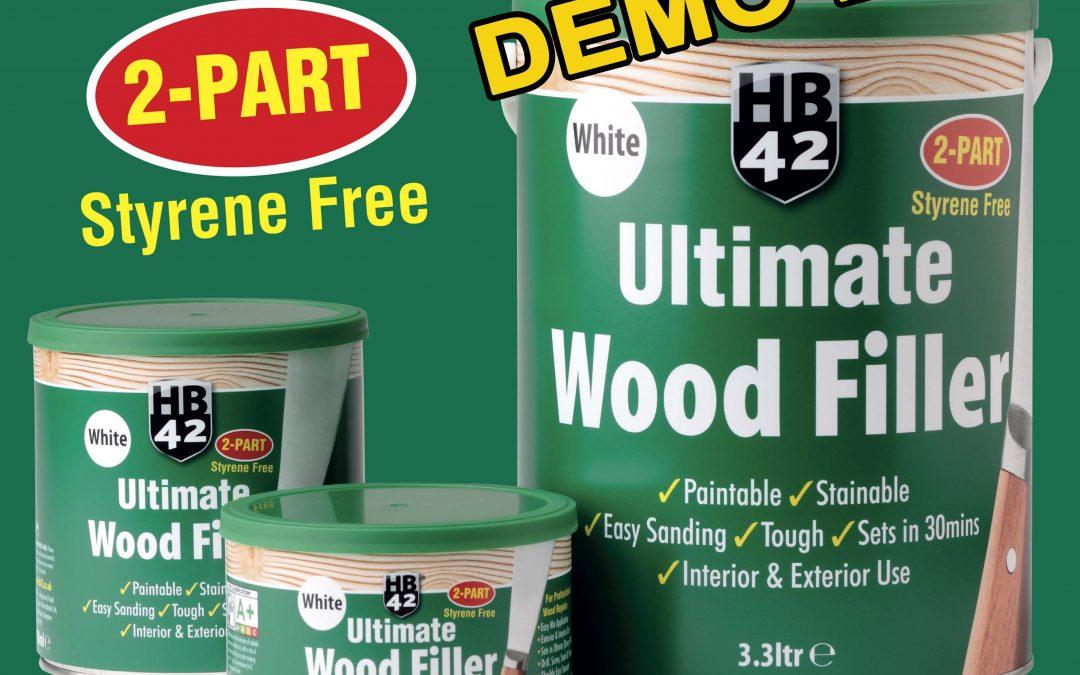 HB42 Wood Filler Demo Day